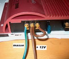 Reglages amplificateur